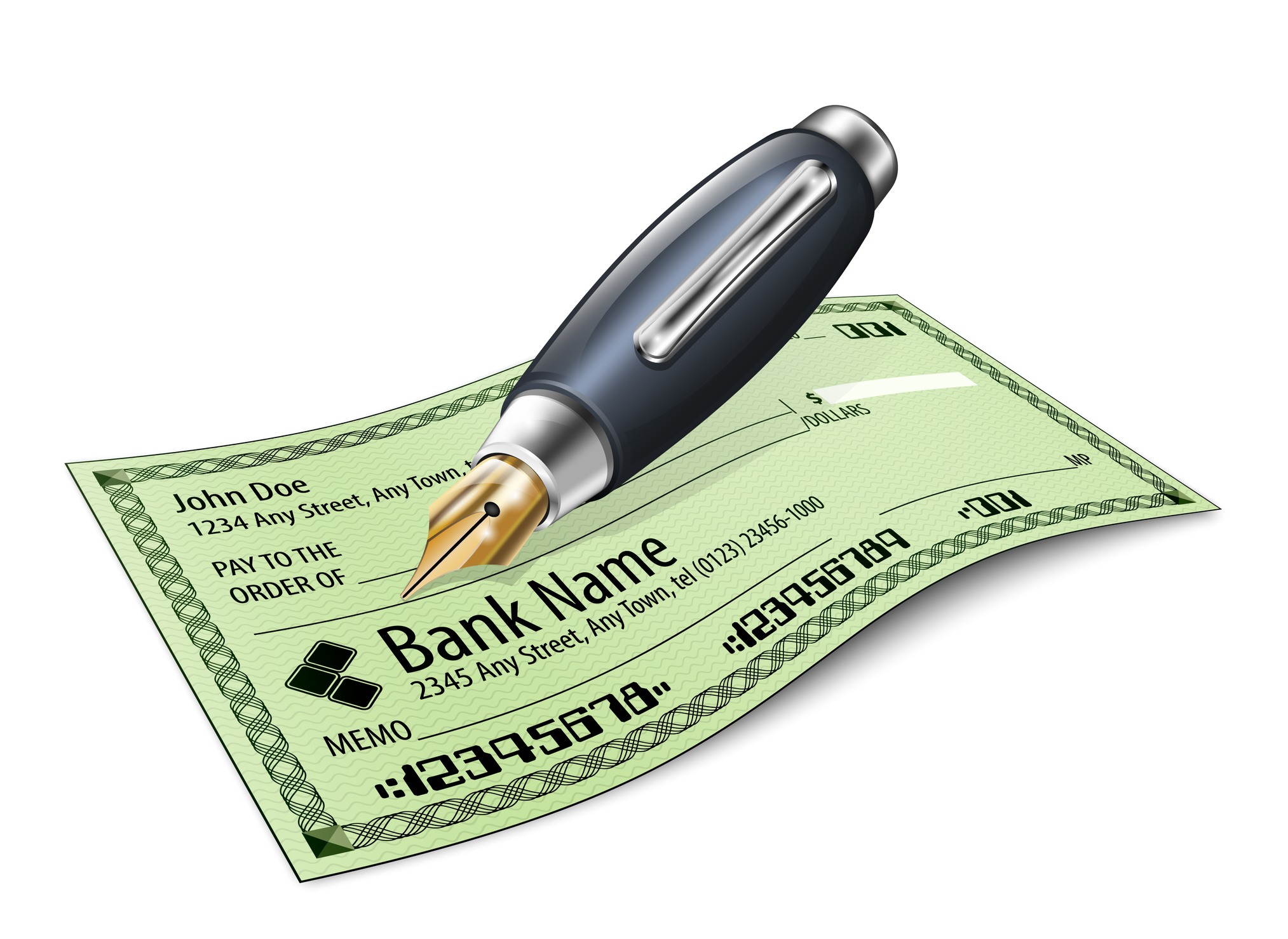 How To Write A Personal Check
